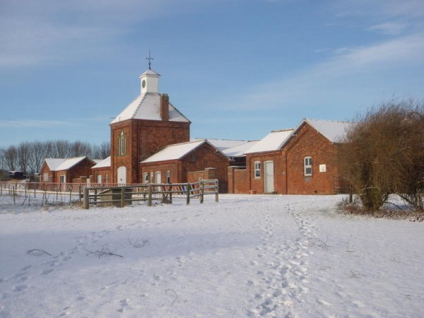 Snow at Cold Harbour Farm by Heather Hayward